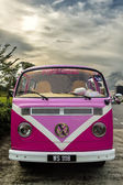 Classical combi van — Stock Photo