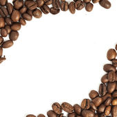 Marco de granos de café — Foto de Stock