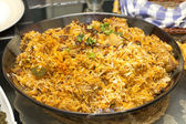 Chicken Biryani the spicy rice — Stock Photo