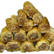 Baklava Sweet Arabian delight - Stock Photo