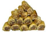 Baklava Sweet Arabian delight — Stock Photo