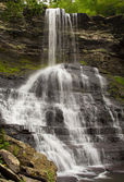 Waterfall in the Cascades Giles County Virginia — Stock Photo