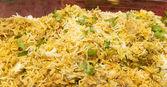 Chicken Biryani the spicy rice — Stock Photo