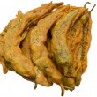 Stock Photo: Green peppers fried snack pakoras