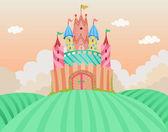 Castelo de conto de fadas — Foto Stock