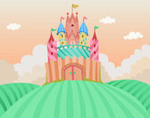 Fairy Tale Castle — Foto Stock