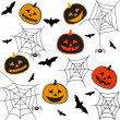 Halloween — Vector de stock #12543592