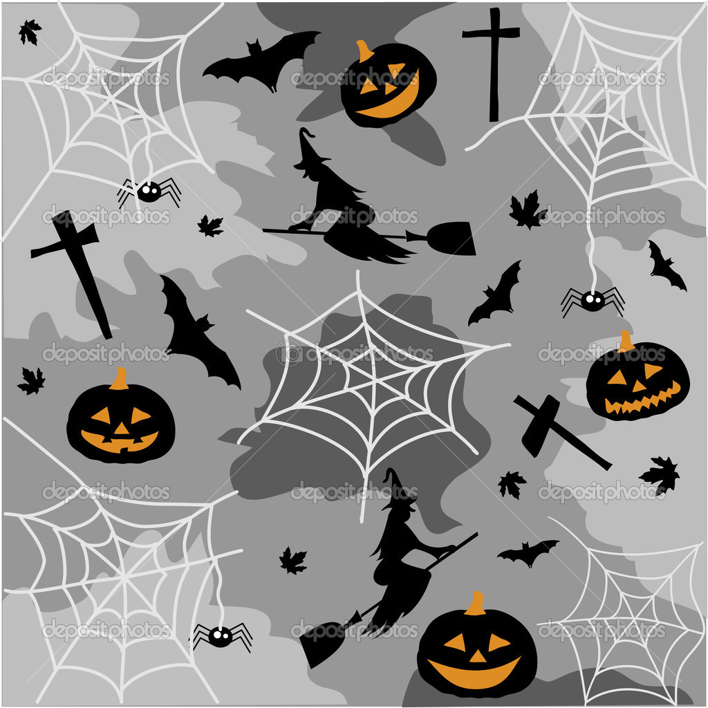 Halloween  Imagen vectorial #12543601