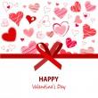 bonne fête de la Saint-Valentin — Vecteur