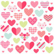Stock Vector: Happy Valentines Day