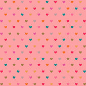 Hearts pattern — Vector de stock