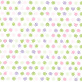 Seamless floral pattern, wallpaper — Stock Vector