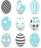 Easter eggs — Stockvektor