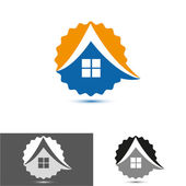 House, home logo, icon — Wektor stockowy