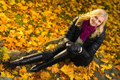 Herfst moment — Stockfoto