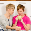 Stock Photo: Coffee moment