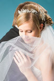 Dreaming bride — Stock Photo