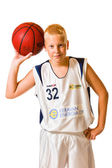 Basketball player — Stock fotografie