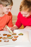 Baking together — Stock Photo