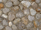 Cobblestone construction — Stock Photo