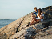 Young couple together — Stock Photo