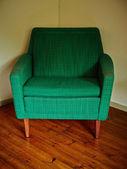 Green chair — Stock Photo