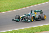 Vitaly Petrov of Caterham F1 Team — Stock Photo