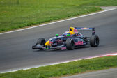 Daniil Kvyat of Koiranen Motorsport team at Formula Renault 2.0 — Stock Photo