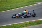 Daniil Kvyat of Koiranen Motorsport team at Formula Renault 2.0 — Stock Photo