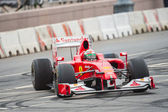 Giancarlo Fisichella of Scuderia Ferrari at Moscow City Racing 2012 — Stock Photo