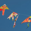 Stock Photo: Kites flying