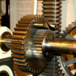 Ancient gear at deutsches museum — Stock Photo #12488170