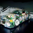 bmw art car — Stock Photo