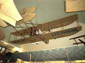 Model airplane at deutsches museum — Stock Photo
