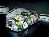 BMW art car — Stock Photo