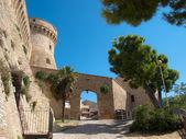 Fortressacquaviva ピチェーニ-イタリア — ストック写真
