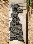 Escultura de bronce — Foto de Stock