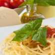 Spaghetti with tomatoes — Stock Photo #12686815