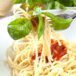 Spaghetti with tomatoes — Stock Photo #12686835