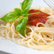Spaghetti with tomatoes — Stock Photo #12686851