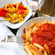 Neapolitan lunch - Stock Photo