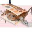 Foto Stock: Health banknote
