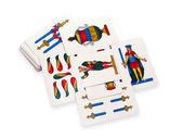 游戏玩卡片 — 图库照片