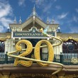 20 anniversary disneyland paris — Stock Photo