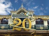 20 anniversary disneyland paris — Stock Photo