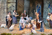 Vatican nativity scene — 图库照片