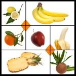 Tiles fruit — Stock Photo