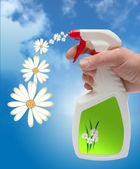 Eco spray — Stockfoto
