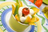 Fresh appetizer cabbage salad — Stock Photo