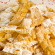 """chiacchiere"" sweet cookies — Stock Photo #20135605"
